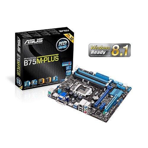 ASUS B75M-Plus Motherboard
