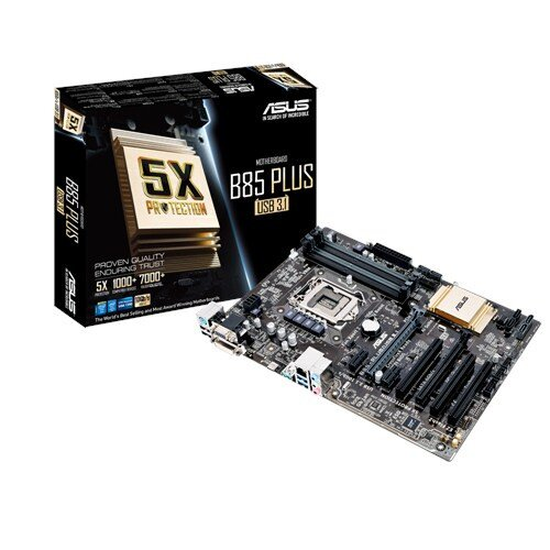 ASUS B85-Plus/USB 3.1 Motherboard