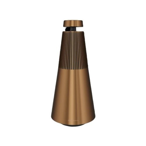 Bang & Olufsen Beosound 2 Portable Bluetooth Speaker with Google Assistant - Bronze Tone