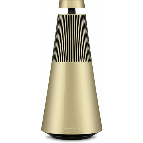 Bang & Olufsen Beosound 2 Portable Bluetooth Speaker with Google Assistant - Brass Tone