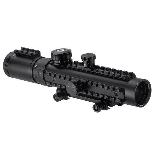 Barska 1-3x30mm IR Electro Sight Multi-Rail Tactical Rifle Scope