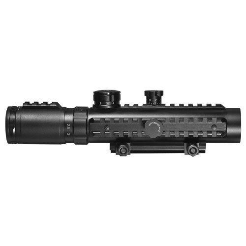 Barska 1-3x30mm IR Sight Green Laser Light Ultimate Combo