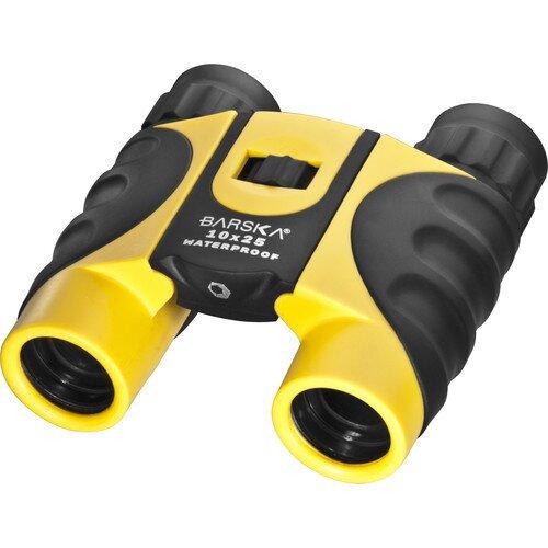 Barska 10x 25mm Colorado Waterproof Compact Binoculars - Yellow
