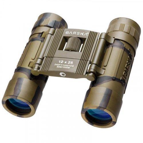 Barska 12x25mm Lucid View Compact Camo Binoculars
