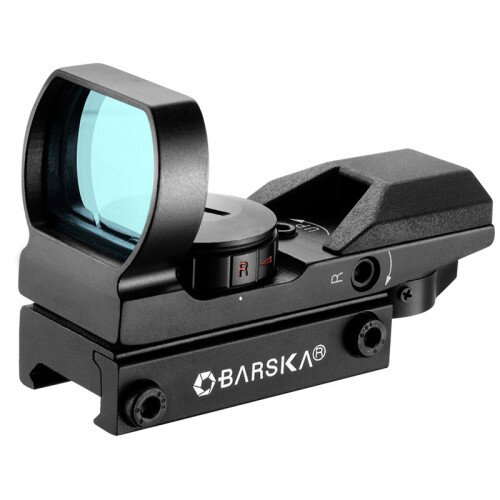 Barska 1x Multi Red / Green Reticle IR Electro Sight Scope