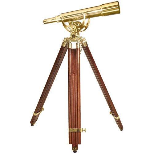 Barska 20-60x60mm Anchormaster Classic Brass Spyscope w/ Mahogany Tripod