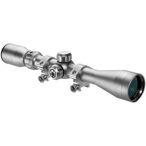 Barska 3-9x40mm Colorado 30/30 Rifle Scope with Rings - Silver