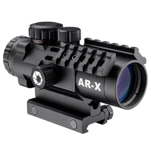Barska 3x32mm IR AR-X Prism Rifle Scope w/ Mounting Rails