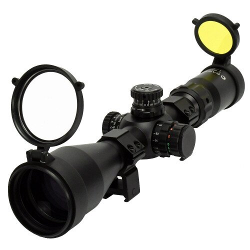 Barska 4-16x 50mm IR Tactical Scope with First Focal Plane Trace MOA Reticle