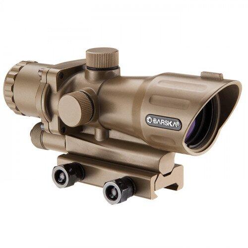 Barska 4x32mm IR AR-15/M-16 Electro Sight Tan (FDE)