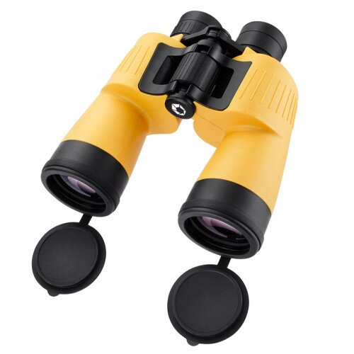 Barska 7x 50mm WP Yellow Floatmaster Floating Binoculars