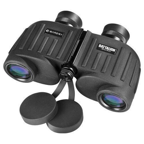 Barska 8x30mm WP Battalion Range Finding Reticle Binoculars
