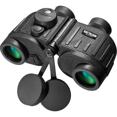 Barska 8x30mm WP Battalion Range Finding Reticle Illuminated Compass Binoculars