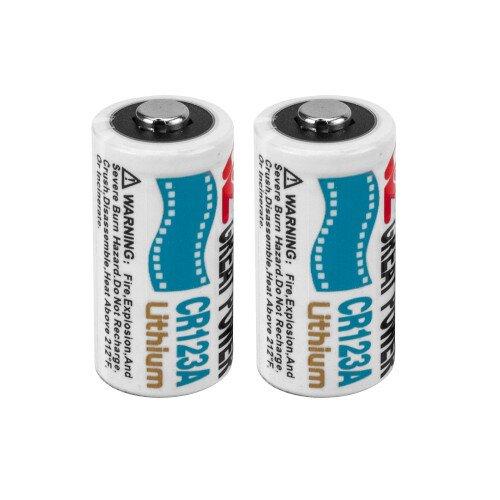 Barska CR123A 3V Lithium Batteries (2 Pieces)