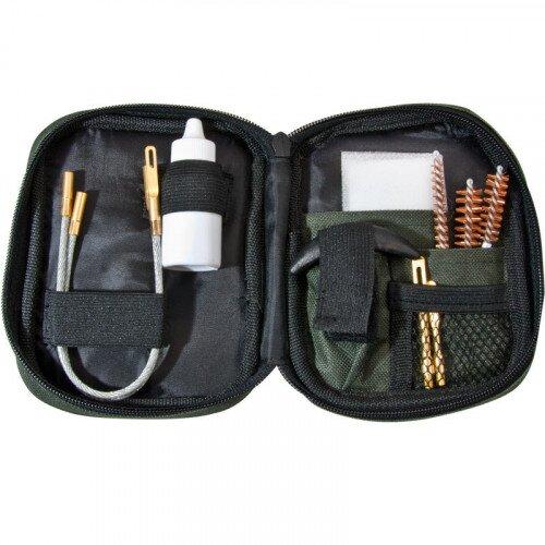 Barska Pistol Cleaning Kit w/ Flexible Rod and Pouch