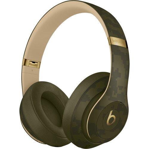 Beats Studio3 Wireless Headphones Beats Camo Collection - Forest Green
