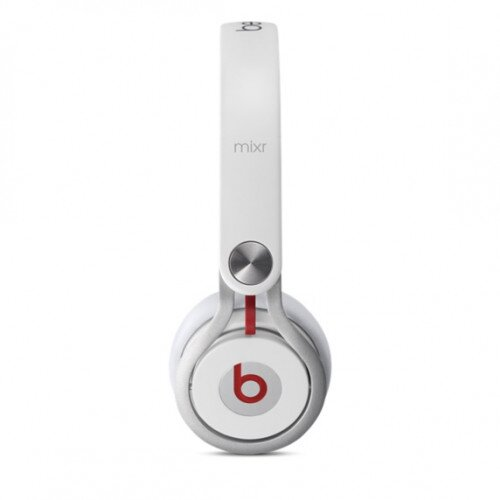 Beats Mixr On-Ear Wired Headphones - White
