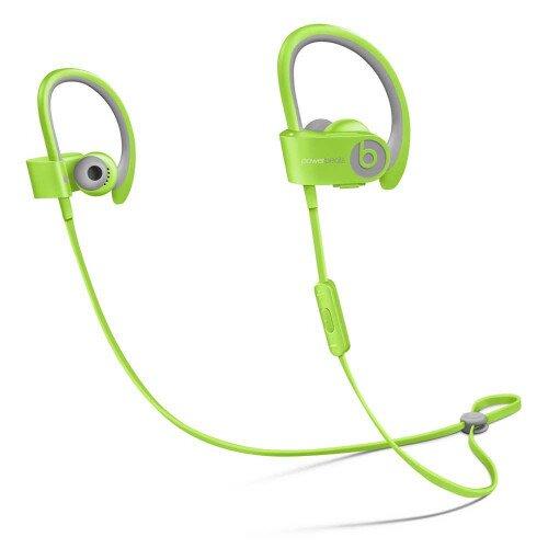 Beats Powerbeats2 Wireless In-Ear Headphones - Green Sport