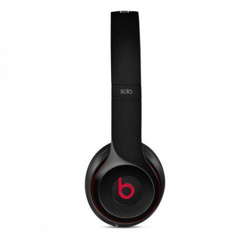 Beats Solo2 On-Ear Wired Headphones - Black