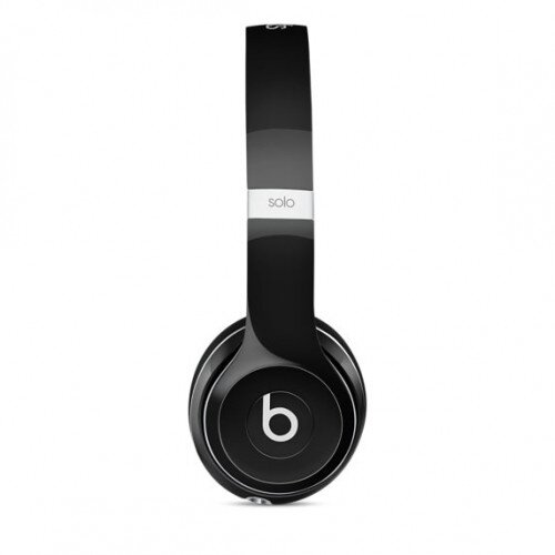 Beats Solo2 On-Ear Wired Headphones - Luxe Black