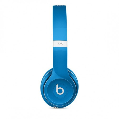 Beats Solo2 On-Ear Wired Headphones - Luxe Blue