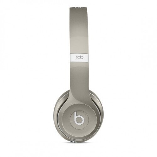 Beats Solo2 On-Ear Wired Headphones - Luxe Silver