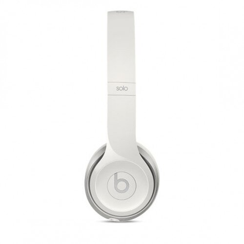 Beats Solo2 On-Ear Wired Headphones - White