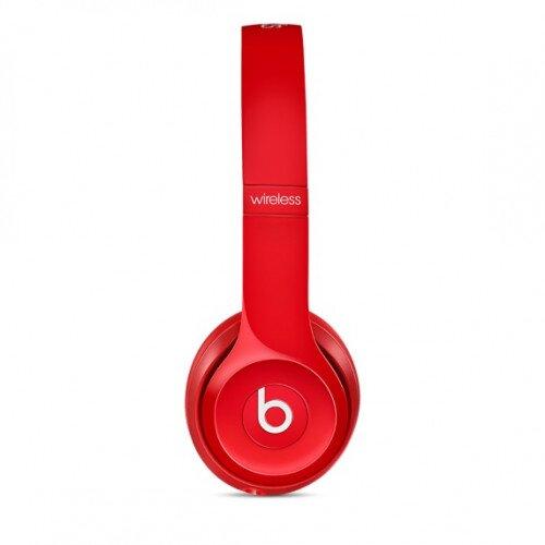 Beats Solo2 Wireless On-Ear Headphones - Red
