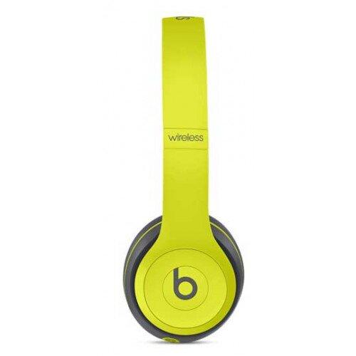Beats Solo2 Wireless On-Ear Headphones - Shock Yellow