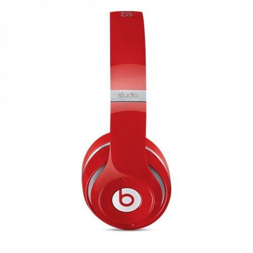 Beats Studio Wireless Over-Ear Headphones - Red