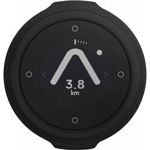 Beeline Velo Smart Waterproof and Wireless GPS for Bicycle - Charcoal Grey - Single Pack