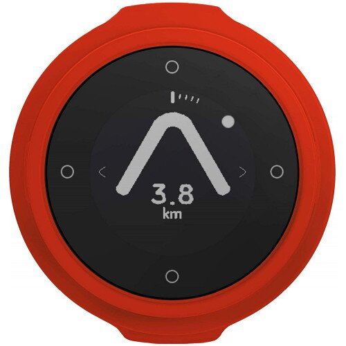 Beeline Velo Smart Waterproof and Wireless GPS for Bicycle - Hot Coal Red - Single Pack
