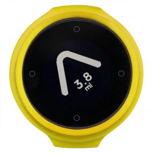 Beeline Velo Smart Waterproof and Wireless GPS for Bicycle - Yellow - Single Pack