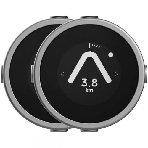 Beeline Moto Smart Navigation for Motorcycle - Metal Silver - Twin pack