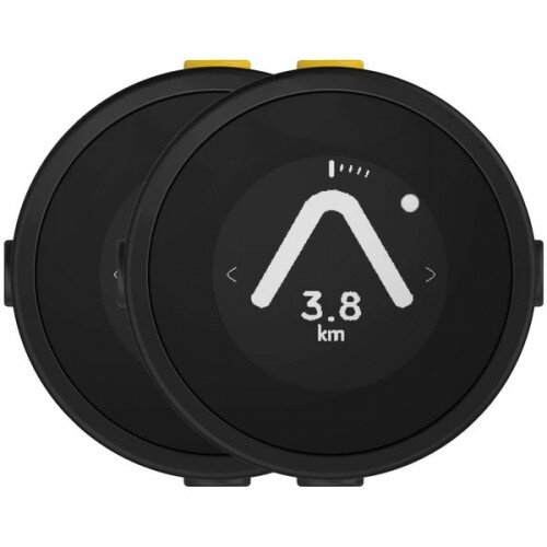 Beeline Moto Smart Navigation for Motorcycle - Plastic Black - Twin pack
