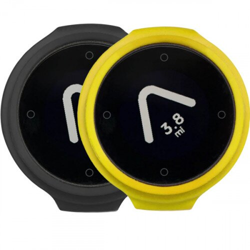 Beeline Velo Smart Waterproof and Wireless GPS for Bicycle Colour Pack - Grey/Yellow