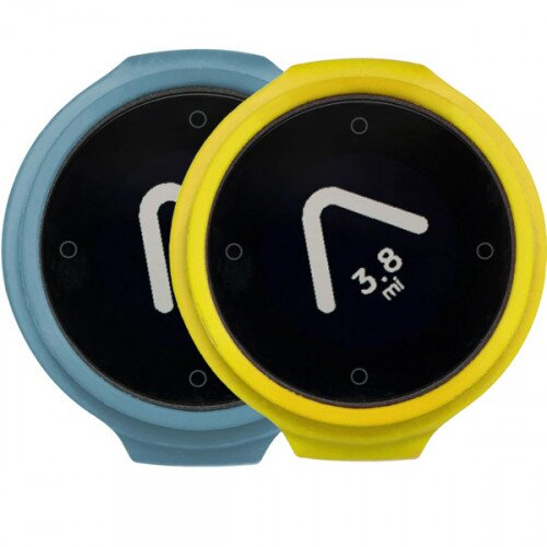 Beeline Velo Smart Waterproof and Wireless GPS for Bicycle Colour Pack - Blue/Yellow