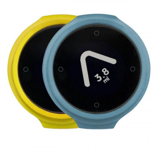Beeline Velo Smart Waterproof and Wireless GPS for Bicycle Colour Pack - Yellow/Blue