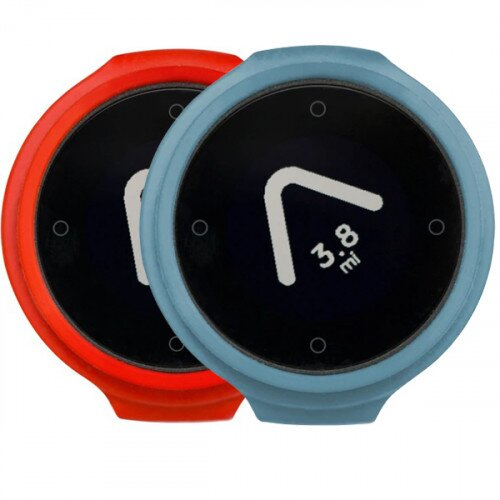 Beeline Velo Smart Waterproof and Wireless GPS for Bicycle Colour Pack - Red/Blue