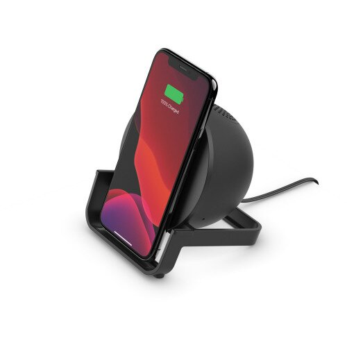 Belkin BOOST CHARGE Wireless Charging Stand + Speaker - Black