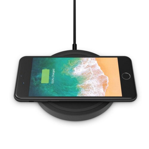 Belkin BOOST UP Wireless Charging Pad 5W (2019, AC Adapter Not Included) - Black