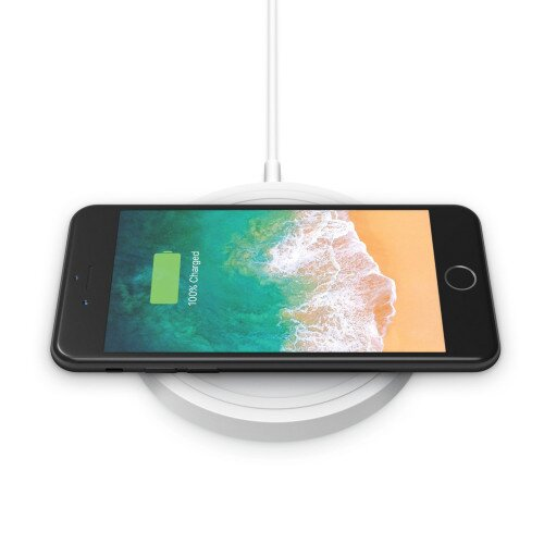 Belkin BOOST UP Wireless Charging Pad 5W (2019, AC Adapter Not Included) - White