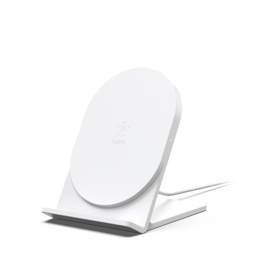 Belkin BOOST UP Wireless Charging Stand 5W (2019, AC Adapter Not Included) - White