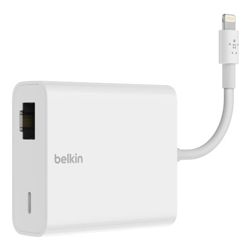 Belkin Ethernet + Power Adapter with Lightning Connector