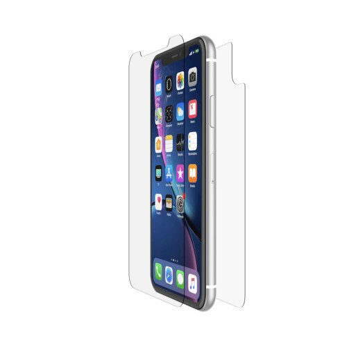 Belkin ScreenForce InvisiGlass Ultra Front and Back Protection - iPhone XR