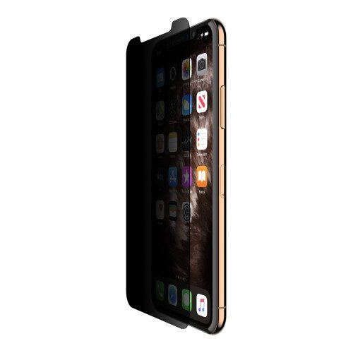 Belkin ScreenForce Tempered Glass Privacy Screen Protector - iPhone Xs Max / iPhone 11 Pro Max