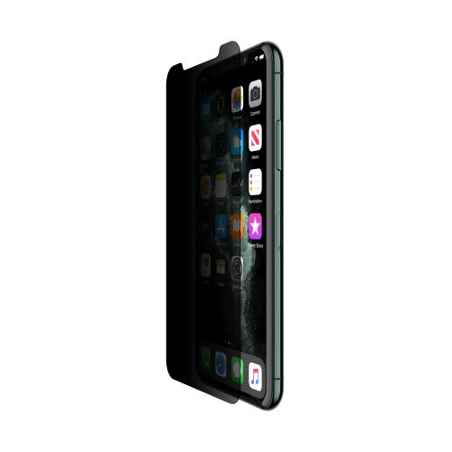 Belkin ScreenForce Tempered Glass Privacy Screen Protector - iPhone X / iPhone Xs / iPhone 11 Pro