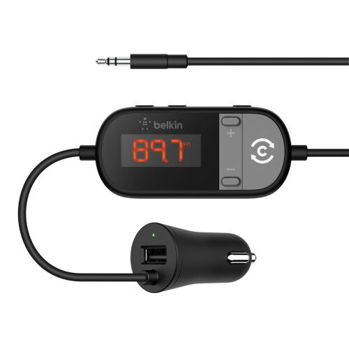 Belkin TuneCast In-Car 3.5mm to FM Transmitter