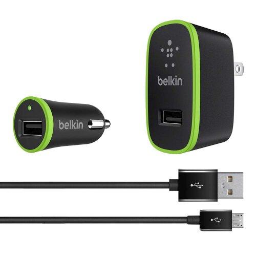 Belkin Wall/Car CHG Kit 2.4A Universal
