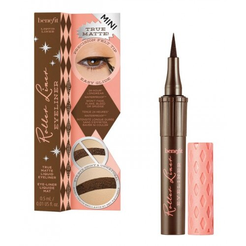 Benefit Cosmetics Roller Liner Liquid Eyeliner Travel Size Mini - Brown